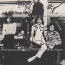 QUEEN BAND SIGNED AUTOGRAPH 8X10 RP PHOTO FREDDIE MERCURY MAY DEACON AND TAYLOR