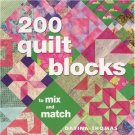 200 Quilt Blocks to Mix and Match Paper Davina Thomas AT4