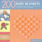 200 Stitch Patterns for Baby Blankets: Knitted and Crocheted AT4