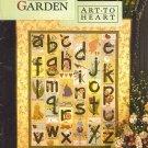 Alphabet Garden by Nancy Halvorsen ART TO HEART AT4