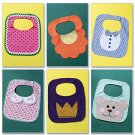 Bibs Butterick Pattern B4533 Baby Bib Bibs Assortment ZDS1
