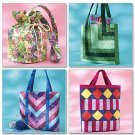 Butterick Pattern B4248 Fat Quarter Purse Purses Handbag ZDS6
