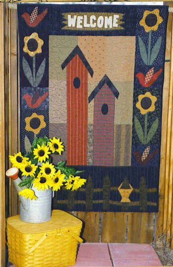OUT ON A LIMB BEHIND THE PICKET FENCE Quilt Pattern ZDS1