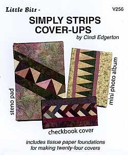 SIMPLY STRIPS COVER-UPS by Cindi Edgerton ZDS1