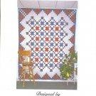 Starlit Paths Queen Quilt Lola Hendrickson Quilt Pattern ZDS1