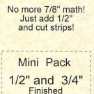 Thangles Mini Pack Assortment templates and instructions zds3