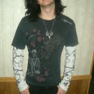 LIMITED PRINT; Affliction; Long-Sleeve; Guys; Large