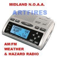Midland WR-300 Weather/AM/FM NOAA Alert Radio
