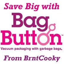 BagButton Vacuum Storage Bag Maker Space Saver Button Save $