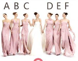 6 Styles Strapless One Shoulder Evening Dress Prom Dress Long Pink Bridesmaid Dress