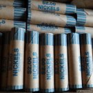 NF STRING & SON PREFORMED CRIMPED NICKEL 50 WRAPPERS ROLLS NEW FOR 5 CENT