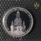 GERMANY 10 MARK PROOF SILVER COIN 1995 J DRESDEN KIRCHE MINT SEALED