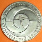 GERMANY 5 MARK UNC CUNI COIN 1982 UMWELTKONFERENZ UNC