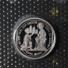 GERMANY 10 MARK PROOF SILVER COIN 2000 A KARL DER GROSSE MINT SEALED