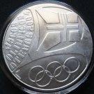 PORTUGAL 10 EURO SILVER COIN 2004 OLIMPICOS ATENAS MINT UNC IN CAPSULE