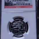 ERROR 2007 CHINA SILVER 3 YUAN 25TH ANNIVERSARY 2000 PANDA NGC PF 69 ULTRA CAMEO
