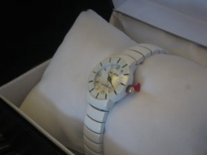 New Paul Jardin White Women's Watch Luxurious Reliable Comfortable Free Shipping to lower US 48
