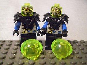 1015] LEGO Space Mars Minifigure~Insectoid Alien Black