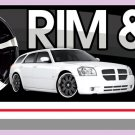 8ft RIMS & TIRE SALE BANNER SIGN