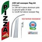 PIZZA RESTAURANT FLAG BANNER