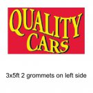 QUALITY CARS DEALER Banner Advertising Business Sign Flag