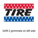 TIRE 3x5ft Banner Advertising Business Sign Flag