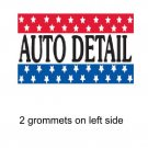 AUTO DETAIL 3x5ft Banner Advertising Business Sign Flag