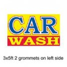 CAR WASH Sign Flag 3x5ft advertising  banner sign