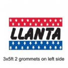 LLANTA Sign Flag 3x5ft advertising  banner sign