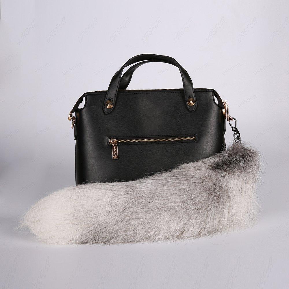 URSFUR Tail Fur Bag Charm Pendant