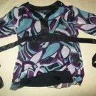 BCX Girl Dressy Shirt sz M