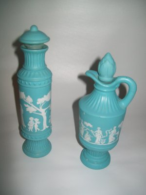Vintage Avon Deco Bottles 1979