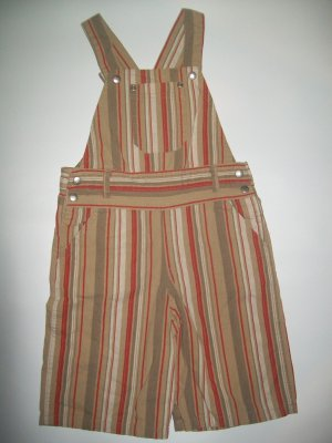 """Kiabi Baby Striped Overalls 3t/3a """"French"""""""
