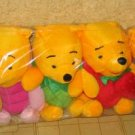 Set of 8 Cute pooh bears (Brand New)
