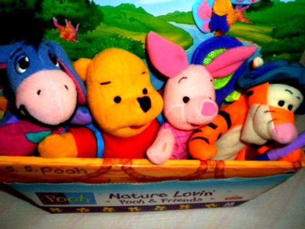 Original Pooh Bear and friends New