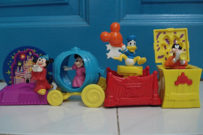 Macdonald Disney Figurine Full Set