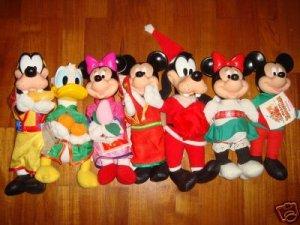 Brand New X'mas and chinese new year Disney plush