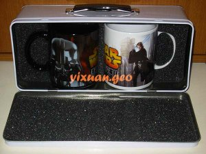 Star Wars collectible cups Set of 2