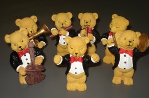 Full set brand new ochestra bear