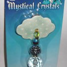 Mystical Crystals Teal Green beaded car  Air Freshener