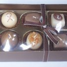 Box of Chocolate Truffle Candles