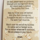 A Soldiers Prayer Card Lot of 10