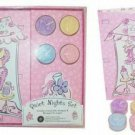 Quiet Nights Journal Candles Gift Set Girly Theme Pink