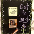 Chalk board Picture Frame Teacher Gift