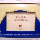 Little Olde School House Teacher Picture Frame Gift