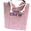 Our Crew sweatshirt photo album holds 4 x 5 inch photos