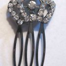 Princess Crown crystal Rhinestone Hair Comb