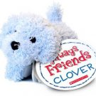 Always Friends Clover Blue Dog Book Plush animal
