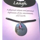 Laugh Expression Pendent Necklace with meaning