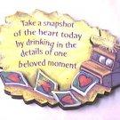 Take a snapshot Comfort Queens Magnet Papel Giftware